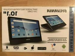 "Sylvania 10.1"" Smart Tablet/Portable DVD Player Combo BRAND"