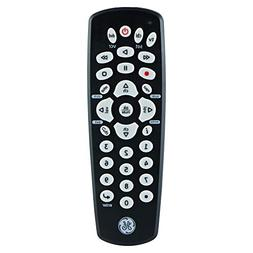 GE 3 Device Universal Remote, Compact Design, Works with Sma