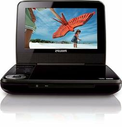 "Philips 7"" Portable DVD Player PET741B"