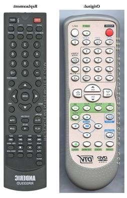 Anderic Remote control for Sylvania / Emerson DTV NF602UD, L