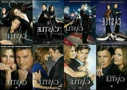 CASTLE the Complete Series on DVD Seasons 1-8 - Season 1 2 3
