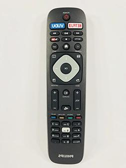 Genuine Philips NH500UP 4K UHD Smart TV Remote Control