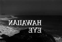 HAWAIIAN EYE COMPLETE SERIES ON DVD ALL 134 EPISODES 8.5 - 9