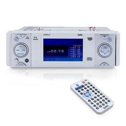 """Pyle In-Dash Marine CD/DVD Receiver with 3"""" Built In Monitor"""