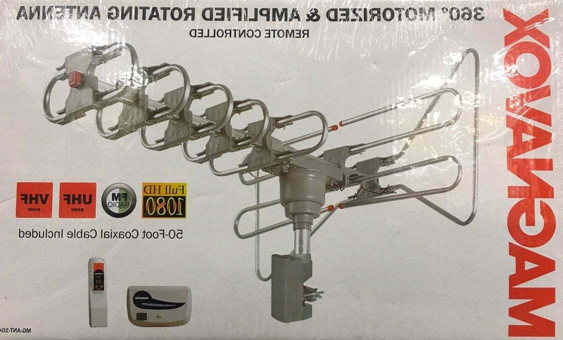 new 360 motorized and amplified rotating antenna