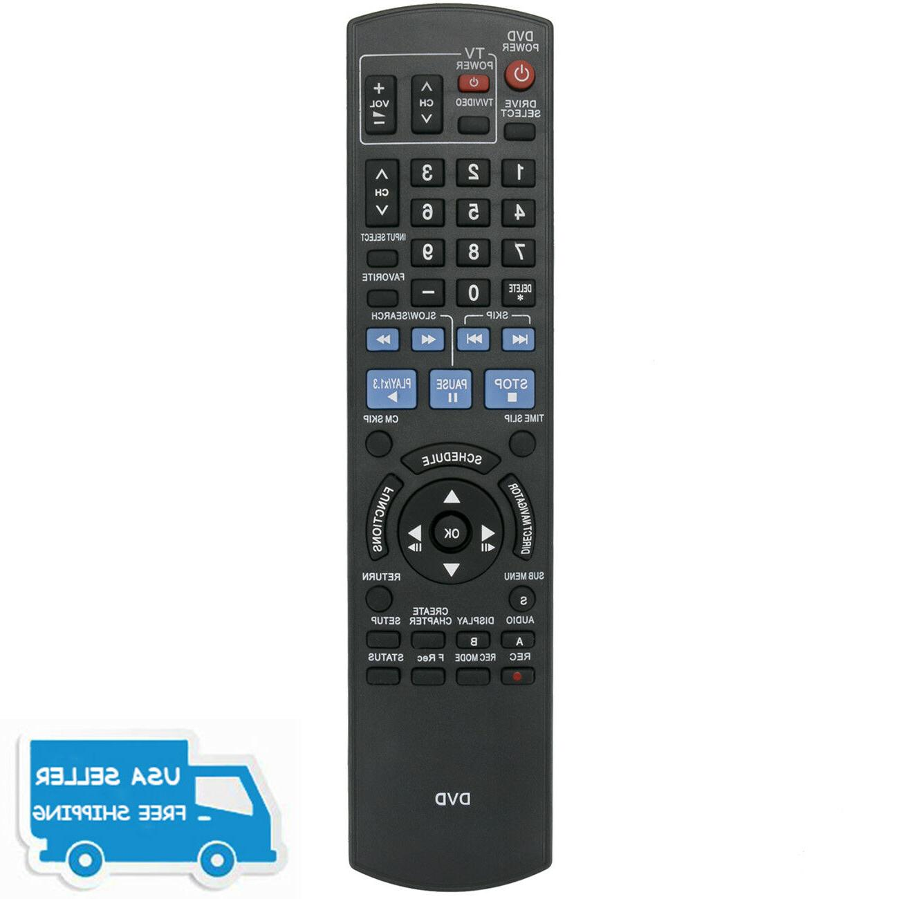 New Replaced Remote Control N2QAYB000196 for Panasonic DVD R