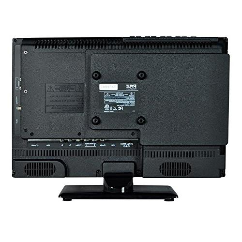 """Upgraded Premium 15.6"""" LED Multimedia Player, Ultra TV, w/ HDMI Cable Input, LED Audio Mac PC, Stereo Wall"""