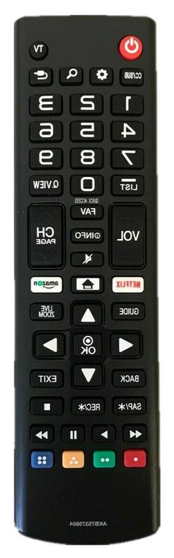 Smart LED LCD TV Remote Control AKB75375604 Replace for LG 6