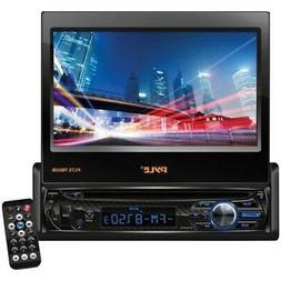 """Pyle PLTS78DUB 7"""" Single-DIN In-Dash DVD Receiver with Motor"""
