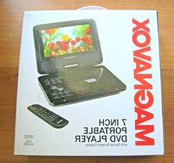 Magnavox 7 Inch Portable DVD player With Remote Control Blac