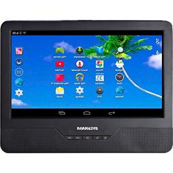 """Sylvania SLTDVD9220 9"""" Android Tablet with Integrated Portab"""